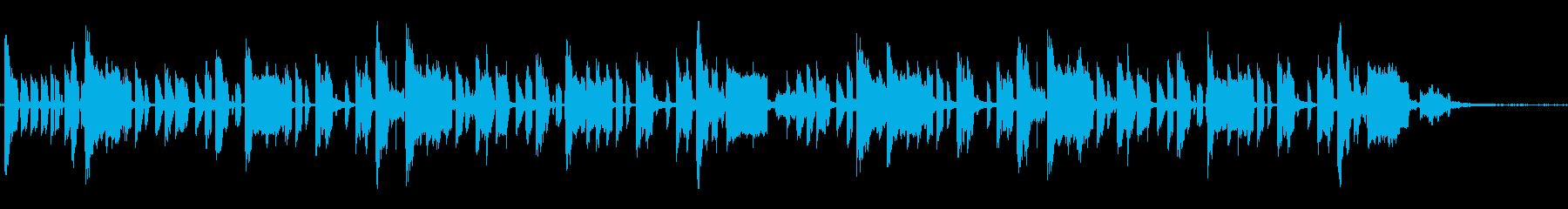 ファンキーでダークなヒップホップの再生済みの波形