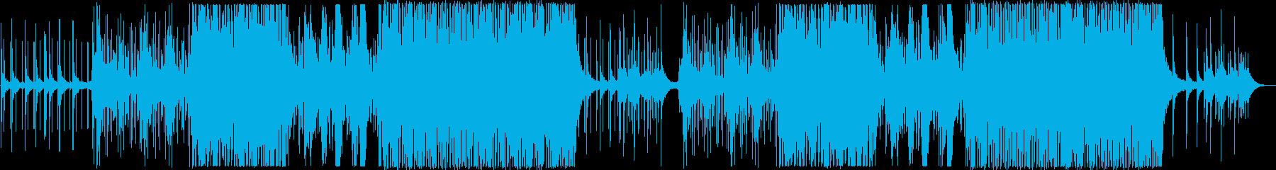 大人な雰囲気のお洒落なジャズの曲の再生済みの波形