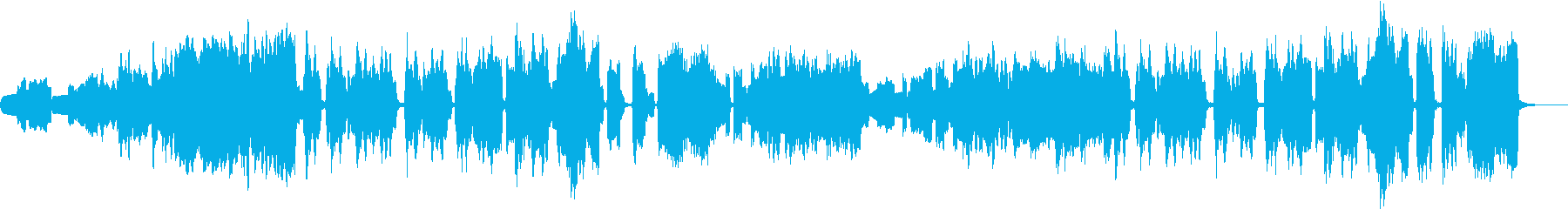 穏やかな木管五重奏の再生済みの波形