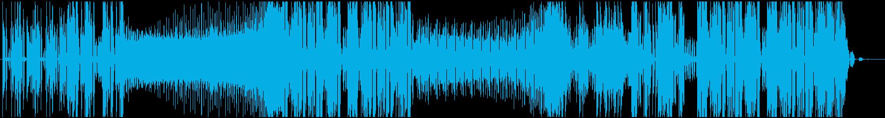 ダブステップでテンションの上がる曲の再生済みの波形