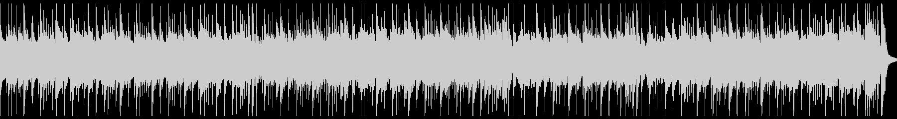 シンプルな曲調のギター&ドラムのBGMの未再生の波形