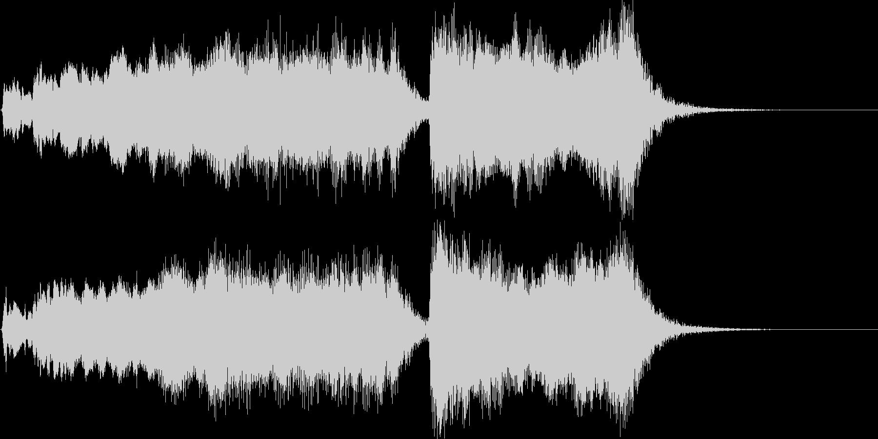 式典・イベント向け金管ファンファーレの未再生の波形