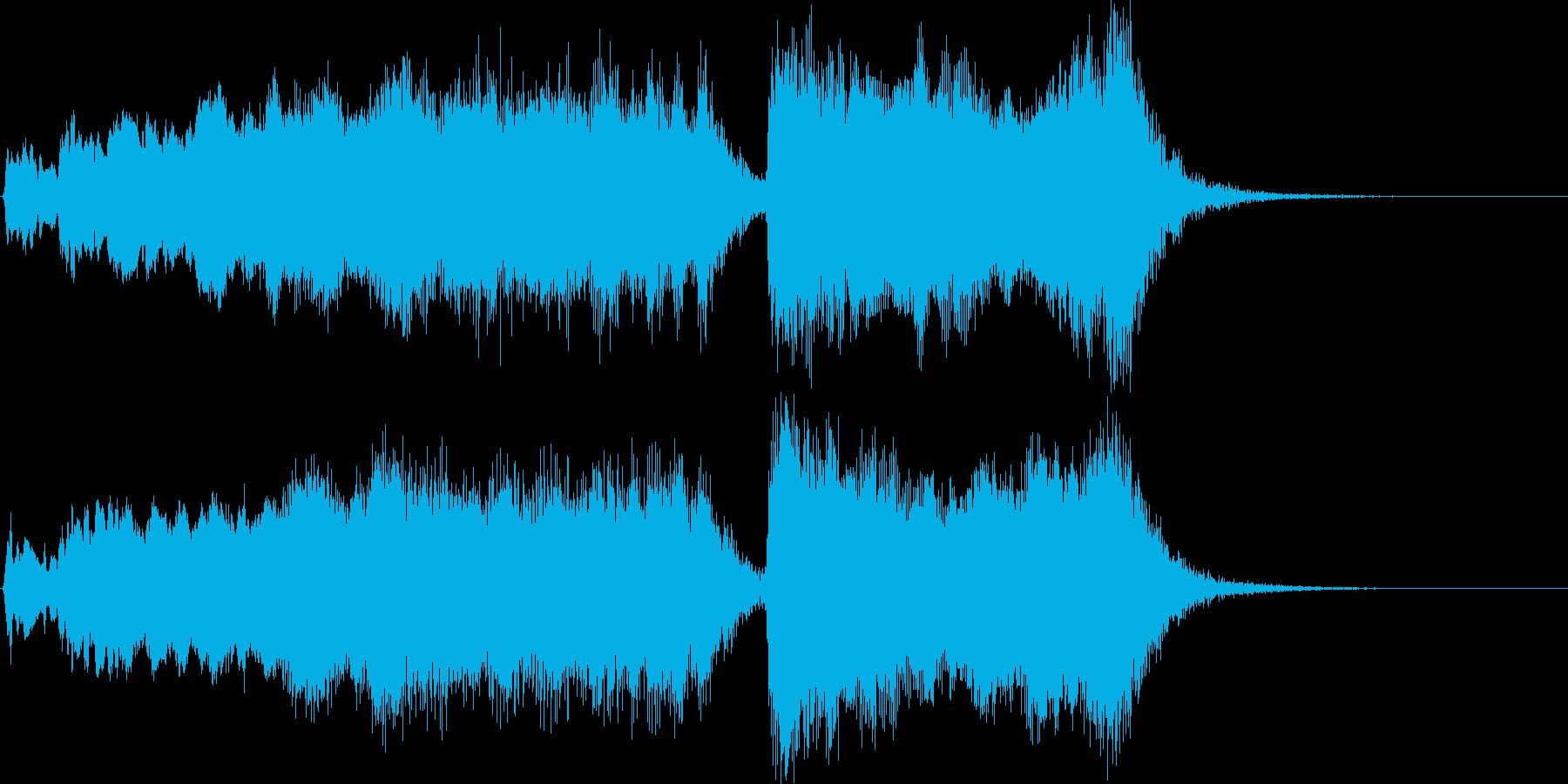 式典・イベント向け金管ファンファーレの再生済みの波形
