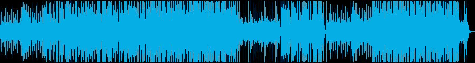 ミッドテンポ、デジタルサウンド、ク...の再生済みの波形