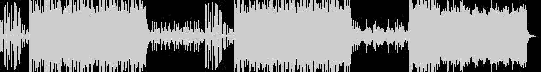 サンプルボイスを使用したストリート系楽曲の未再生の波形
