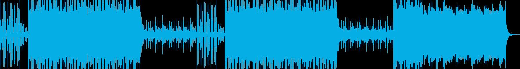 サンプルボイスを使用したストリート系楽曲の再生済みの波形