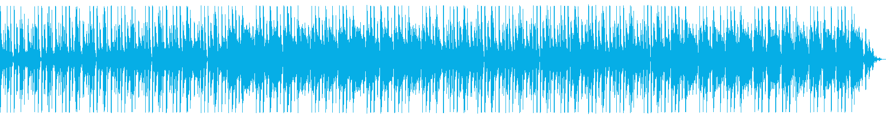 シューティング向けテクノの再生済みの波形