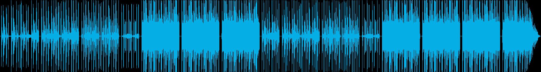 ジャングルを連想させるムーンバートンの再生済みの波形