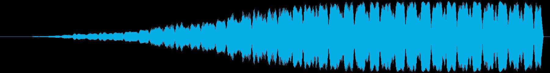 不協和音ハウリング【ホラー】ヒィィィィィの再生済みの波形