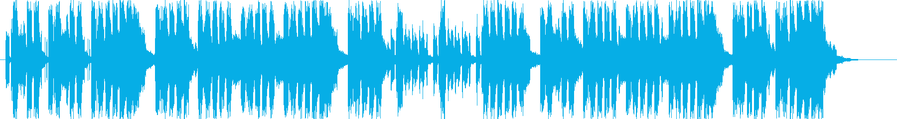 誕生日EDMハッピーバースデートゥーユーの再生済みの波形