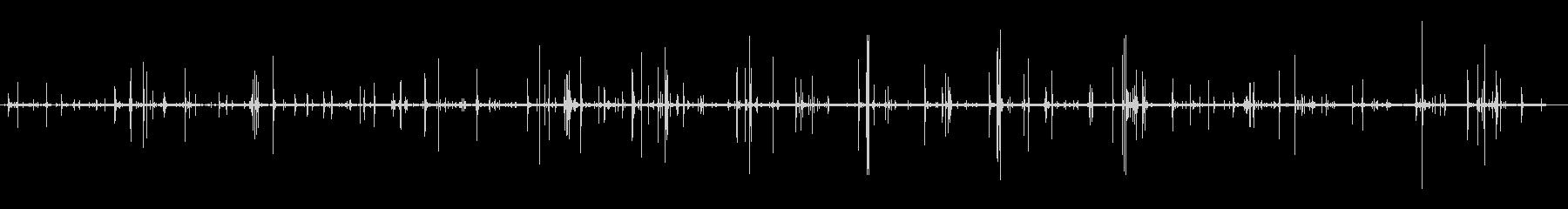 アスファルトの足跡の未再生の波形