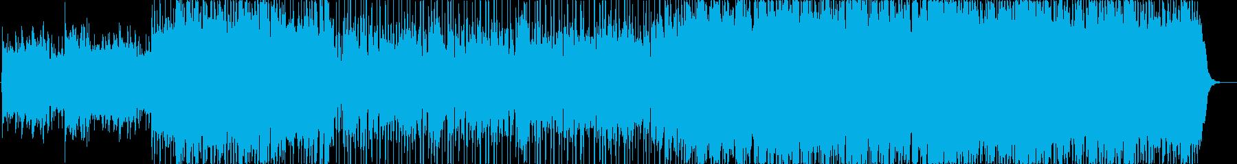 ポップロック 積極的 焦り 劇的な...の再生済みの波形