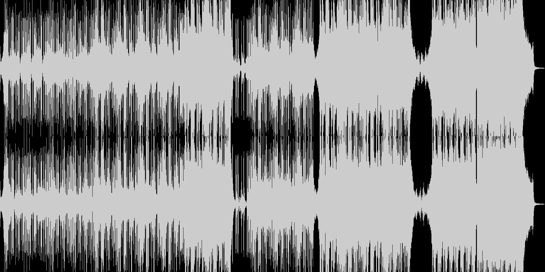 邪悪なヒップホップ・エレキギター有 長尺の未再生の波形