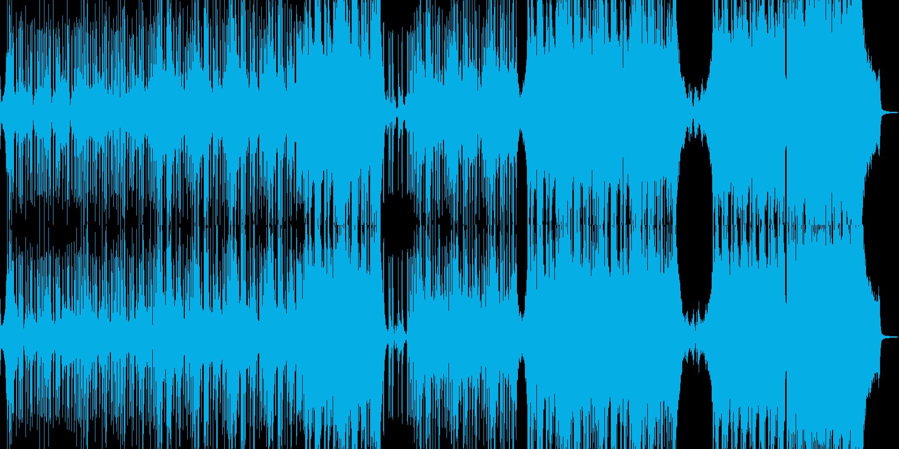 邪悪なヒップホップ・エレキギター有 長尺の再生済みの波形