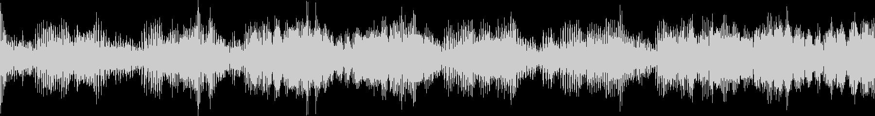 宇宙人の声の未再生の波形