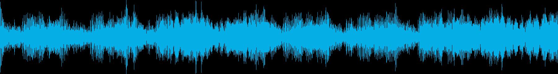 宇宙人の声の再生済みの波形