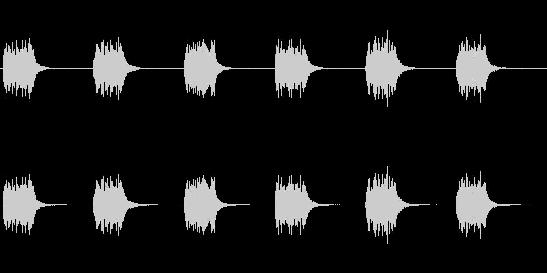 古いロータリーダイヤル電話:ベルリンガーの未再生の波形
