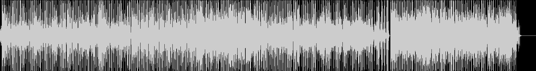 ファンクビートにパワフルなスラップベースの未再生の波形