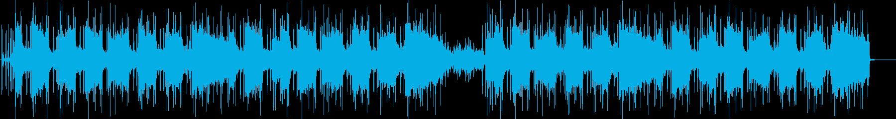 クールなLo-Fi HipHopオルガンの再生済みの波形