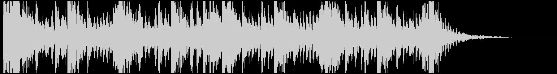 和太鼓のリズム2 残響なしBPM160の未再生の波形