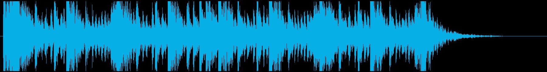 和太鼓のリズム2 残響なしBPM160の再生済みの波形