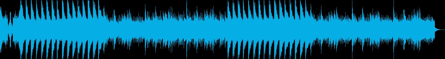 ドラムなしバージョンの再生済みの波形