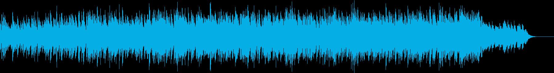 道を切り開くイメージのエレクトロの再生済みの波形