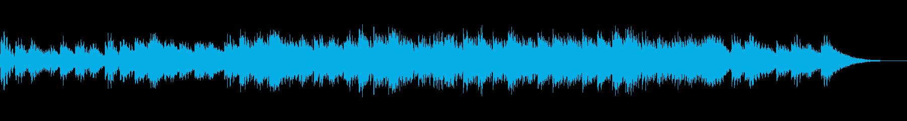ハイテクリズムな曲で気分があがる。の再生済みの波形
