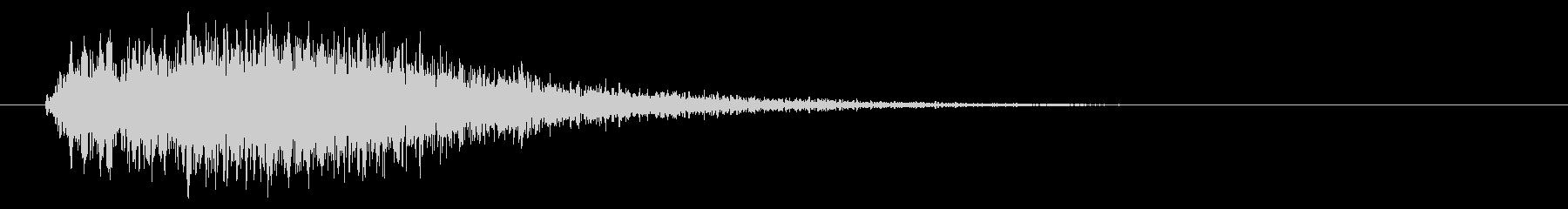 ジャジャン!定番!クイズの効果音【05】の未再生の波形