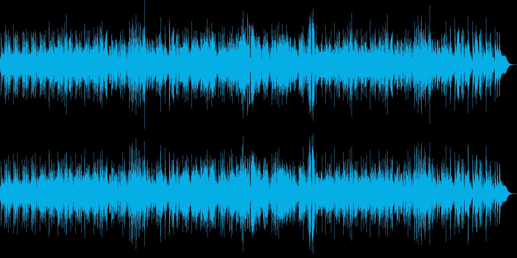 ハードなジャズピアノトリオの再生済みの波形