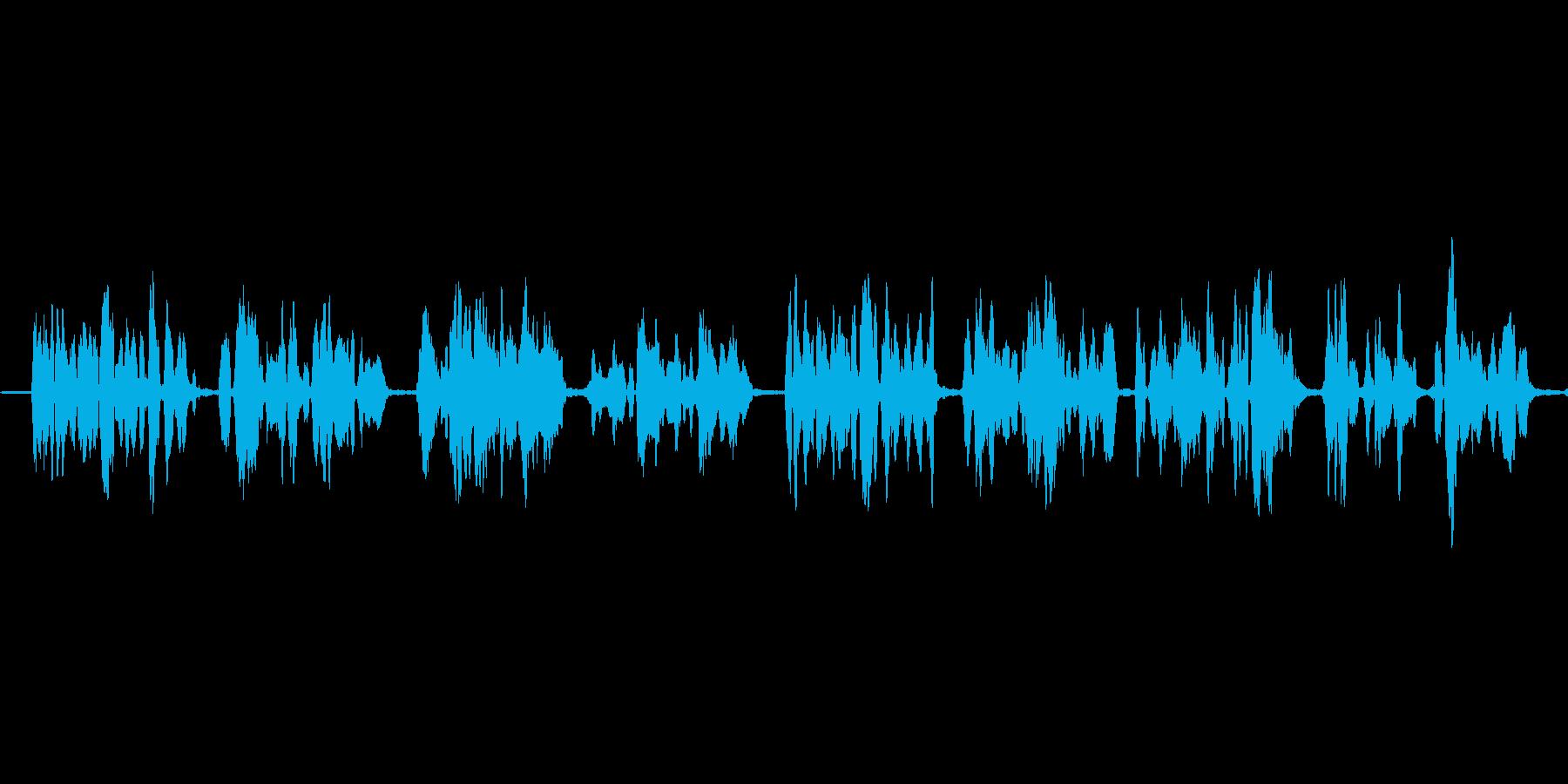 (「寺御幸」)の再生済みの波形