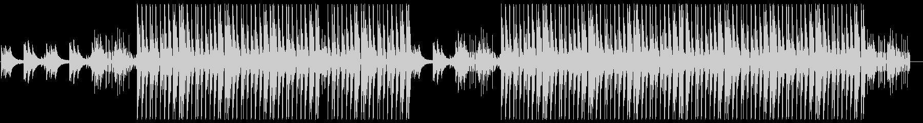 洋楽風R&B♪トラップソウルの未再生の波形