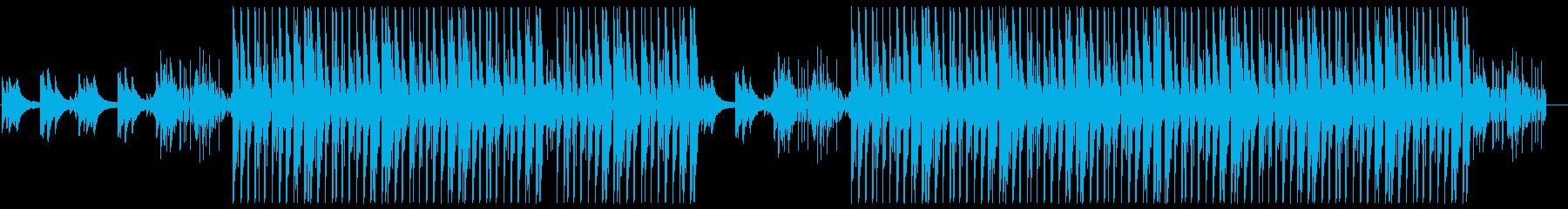 洋楽風R&B♪トラップソウルの再生済みの波形