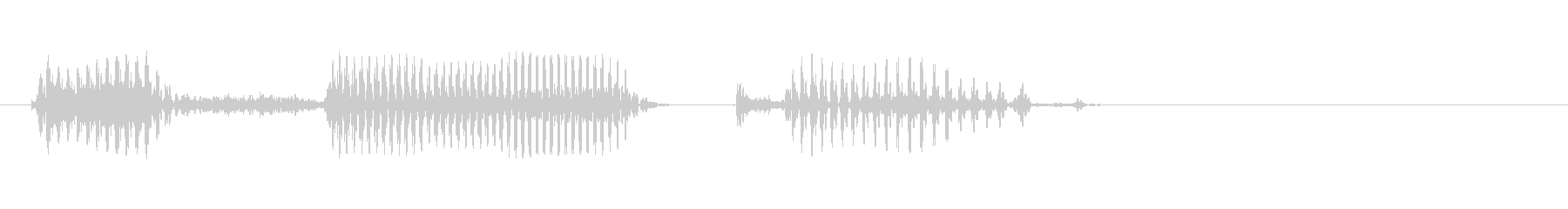 Ehime Prefecture's unreproduced waveform