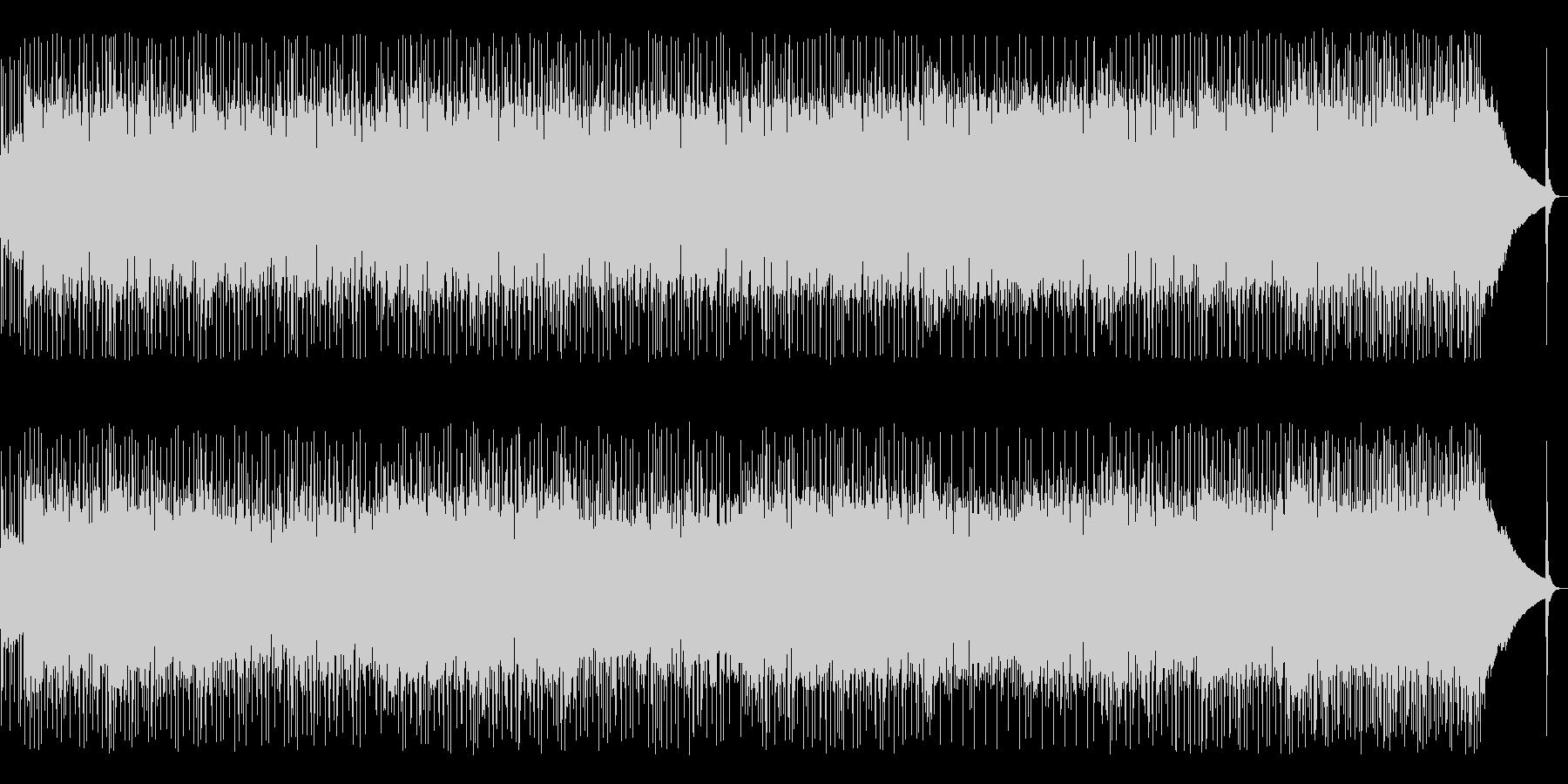 洗練された激しさ・ギターロックの未再生の波形