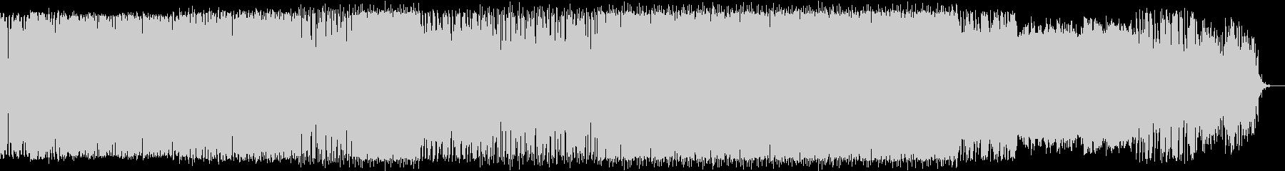 オルガンメロディ入りの深海イメージ曲の未再生の波形