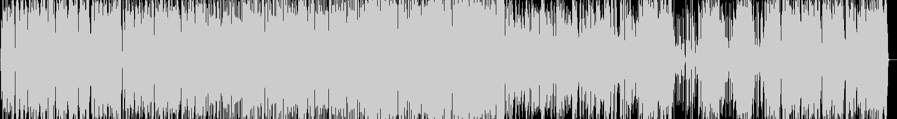 疾走感のあるジャズ ピアノトリオ2の未再生の波形