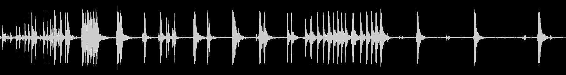 メタルクランクアイアンウルフショル...の未再生の波形