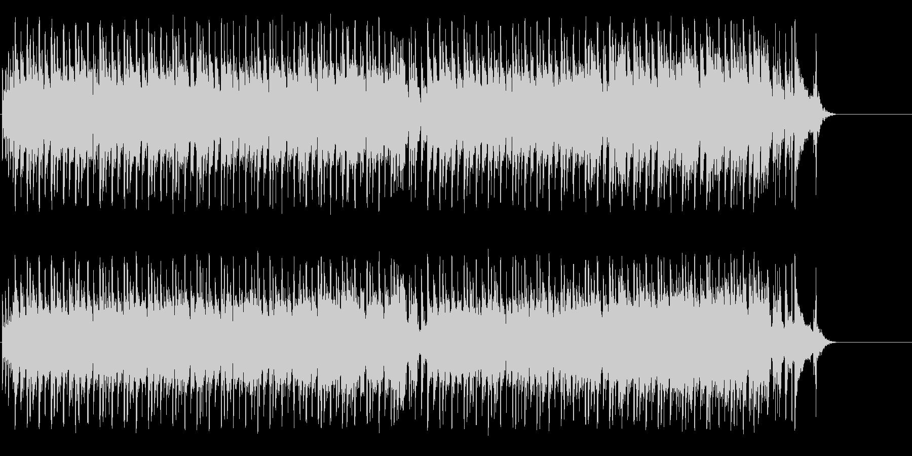 コミカルでテンポのあるポップの未再生の波形