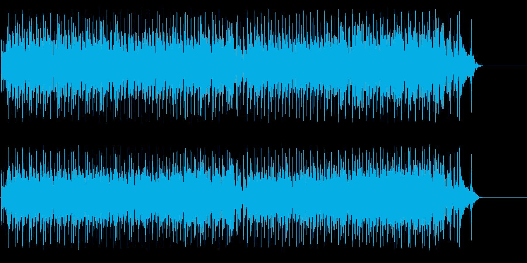 コミカルでテンポのあるポップの再生済みの波形