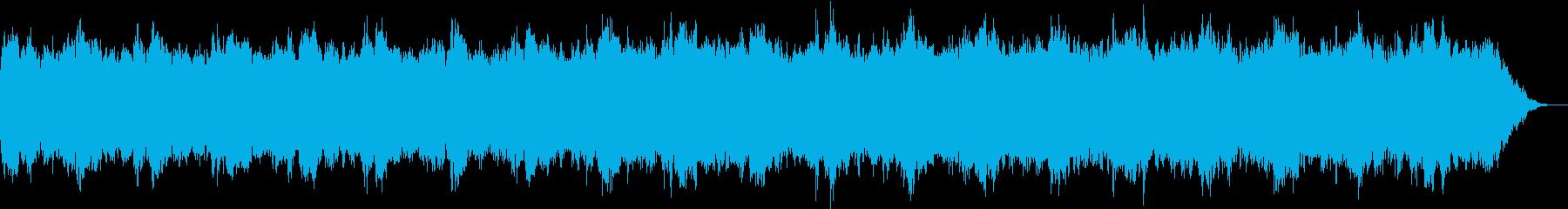 ヒーリング、アンビエントの再生済みの波形