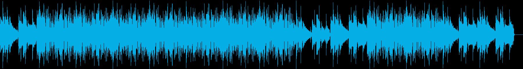 チル・クール・ミステリー・ゆったりの再生済みの波形