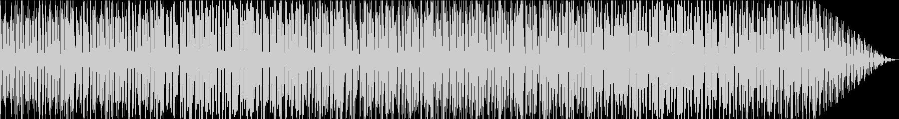 軽快で楽しいポップなエレクトロニカの未再生の波形