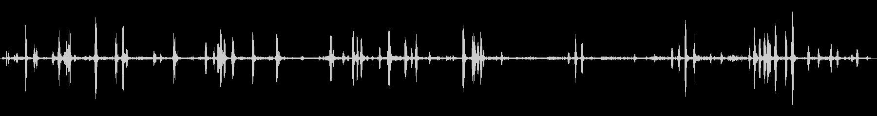ヒヒのグループ:ブラシバックグラウ...の未再生の波形