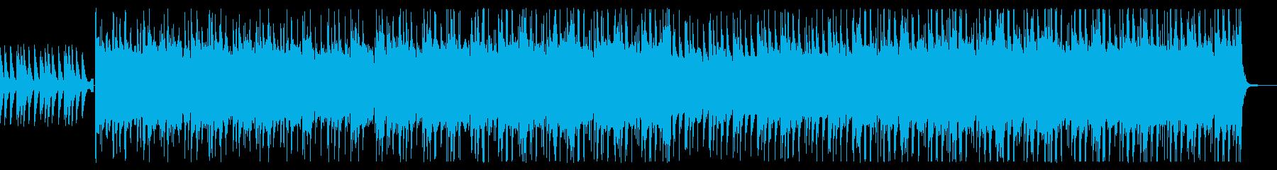 洋楽テイストでノリの良いポップスの再生済みの波形