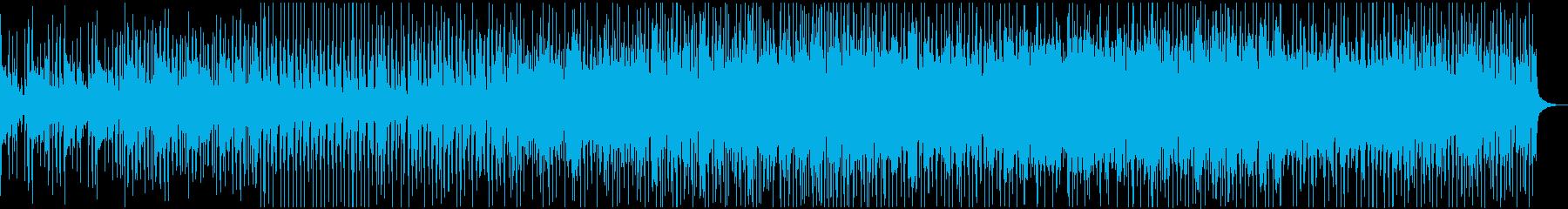 アクション系ドラマ緊張感のあるビートの再生済みの波形