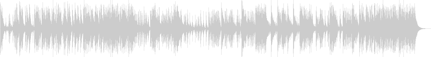 日本伝統音楽3(和太鼓)の未再生の波形