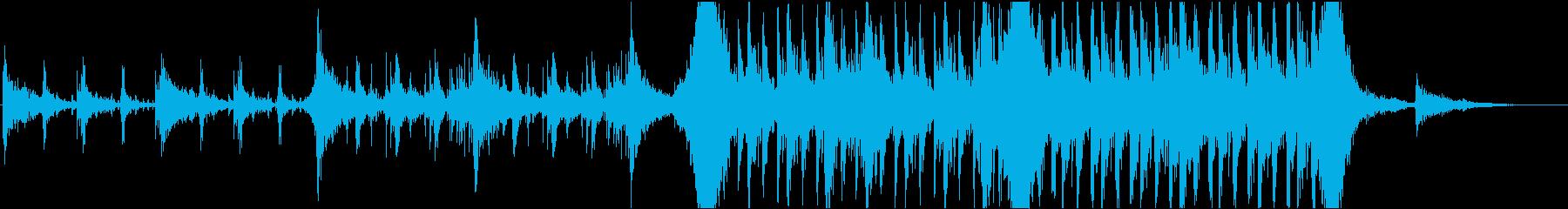 劇的 エピック 音楽の再生済みの波形