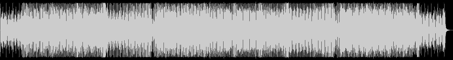 ポップなテクノサウンドの未再生の波形