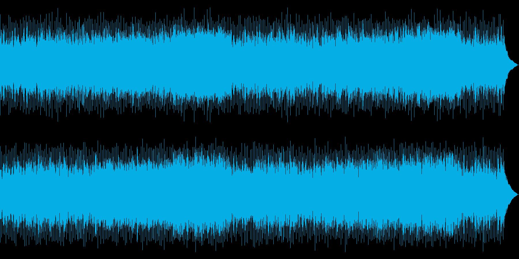 生演奏アコギ!幸福感、優しいバラードの再生済みの波形
